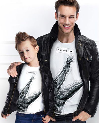 Family Look <br /> Crocodile